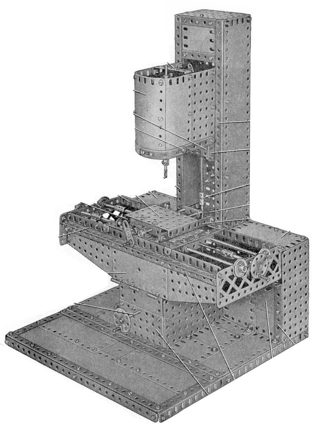 Analysis Of Meccano Manuals Manual Model Search Motor Reversing Switches Electronics In 195461 914 Vertical Milling Machine